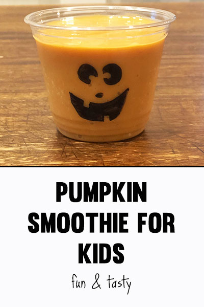pumpkin smoothie for kids