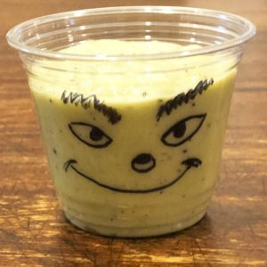 grinch smoothie