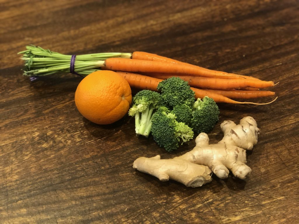 carrot and broccoli juice ingredients